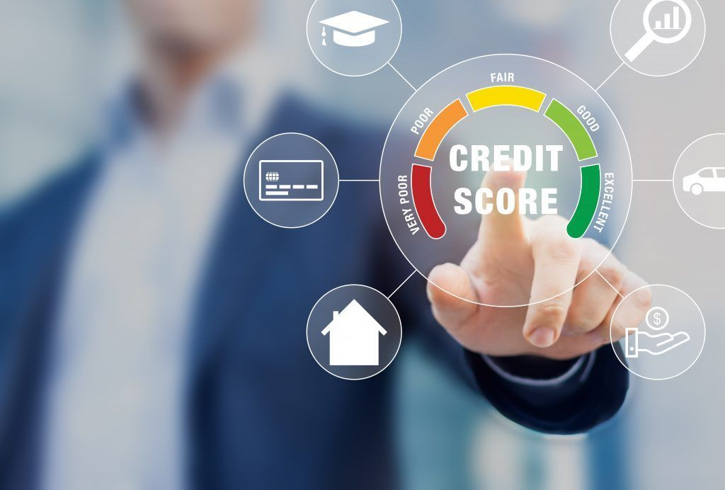 A Credit Overview with the Credit Score Range and Breakdown